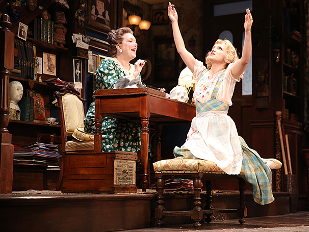 You Can't Take It With You - Show Photos - 9/14 - Kristine Nielsen - Annaleigh Ashford