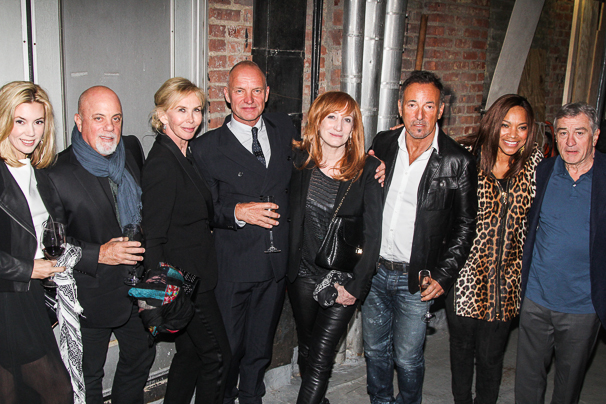 OP - The Last Ship - Opening - 10/14 - Alexis Roderick - Billy Joel - Trudie Styler -  Sting - Patti Scialfa -  Bruce Springsteen - Grace Hightower - Robert DeNiro