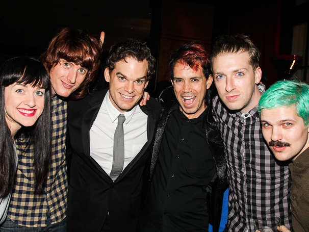 Hedwig and the Angry Inch - Opening - 10/14 - Lena Hall - Justin Craig - Michael C. Hall - Peter Yanowitz - Tim Mislock - Matt Duncan