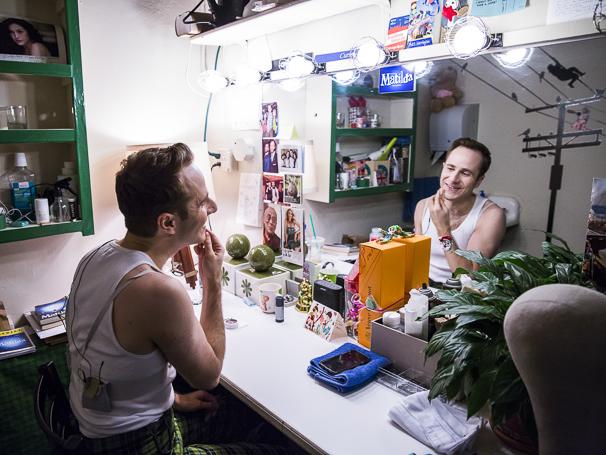 Matilda - Backstage - 2/15 - Matt Harrington