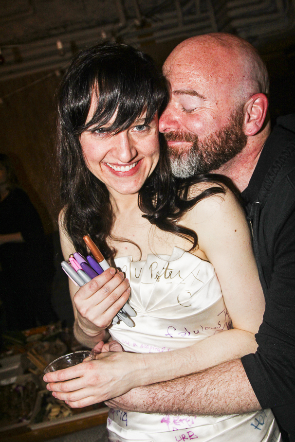 Hedwig and the Angry Inch - Lena Hall - Final Show - 4/15 - Lena Hall  - Danny Paul