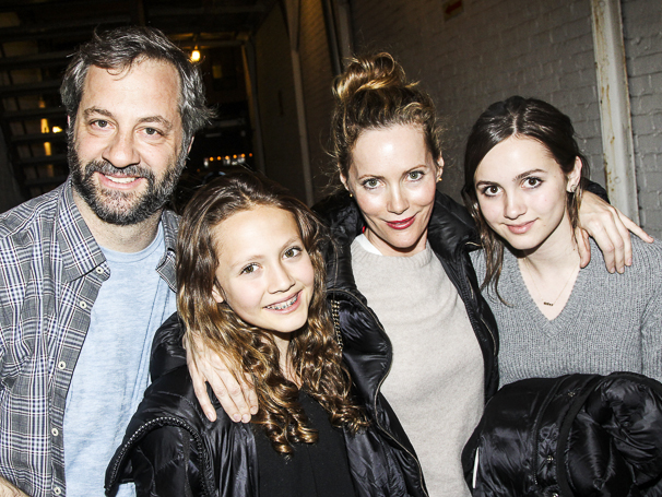 Hedwig and the Angry Inch - Lena Hall - Final Show - 4/15 - Judd Apatow - Iris Apatow - Leslie Mann - Maude Apatow