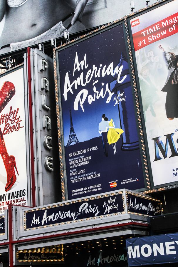 An American in Paris - opwning - 4/15 - Theater