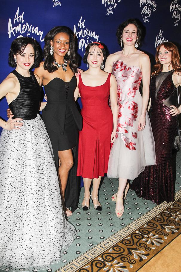 An American in Paris - opening - 4/15 - - Sara Esty - Taeler Cyrus - Allison Walsh - Sarrah Strimel - Candy Olsen