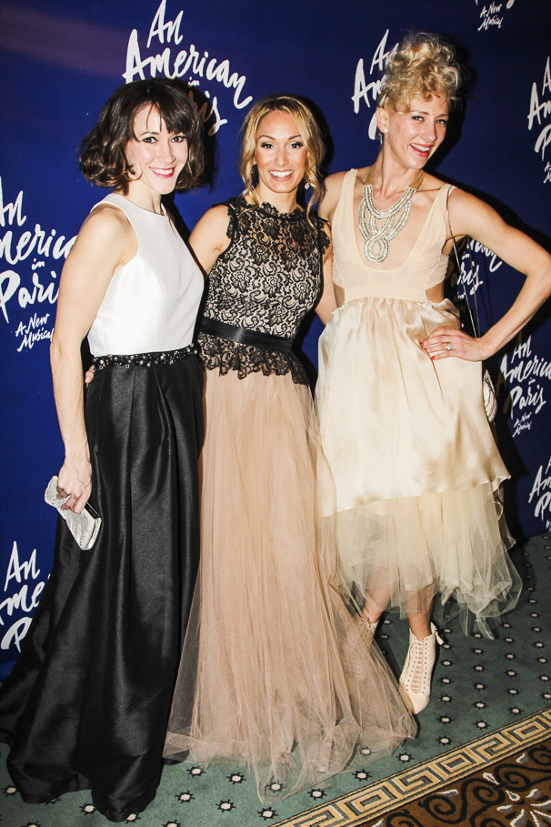 An American in Paris - opening - 4/15 - Laura Feig - Rebecca Riker - Heather Lang