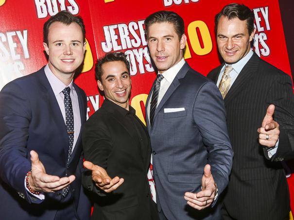 The Jersey Boys - 10th Anniversary - 11/15 - Quinn VanAntwerp, Joseph Leo Bwarie, Richard H Blake and Matt Bogart