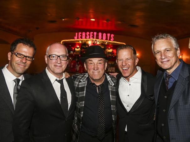 The Jersey Boys - 10th Anniversary - 11/15 - Steve Gouveia- Donny Kehr- Des McAnuff- Christian Hoff- Rick Elice