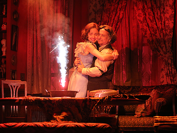 You Can't Take It With You - Show Photos - 9/14 - Rose Byrne - Mark Linn-Baker