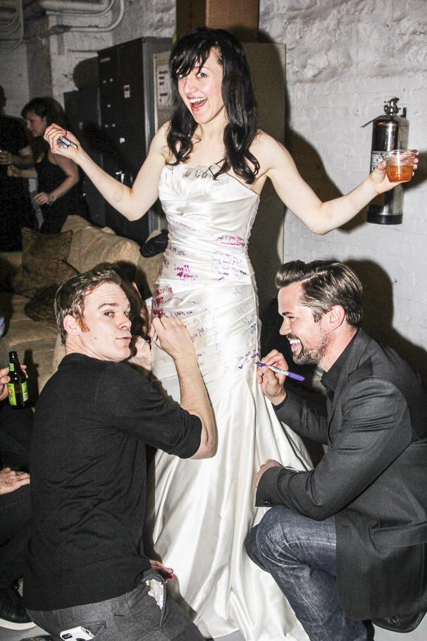 Hedwig and the Angry Inch - Lena Hall - Final Show - 4/15 - Lena Hall - Michael C. Hall - Andrew Rannells